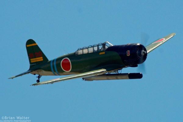 "Commemorative Air Force (Dixie Wing) replica IJN Nakajima B5N2 ""Kate"" credit Brian Walter - Glidepath Photography"