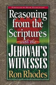 Reasoning from the Scriptures with the Jehovah's Witnesses book cover