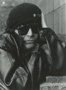 Alan Vega courtesy In The Red Records