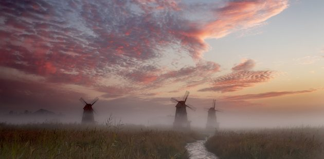 The Impossible Dream_windmills: Image by charlie min kim from Pixabay