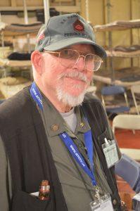 Merchant Marine visit aboard the John W. Brown: GySgt Thomas G. Hill (USMC Ret) (Anthony C. Hayes)