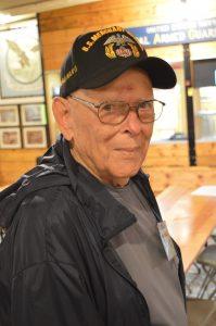 Merchant Marine Veteran James Ciple. (Anthony C. Hayes)