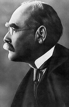 Rudyyard  Kipling, the English Poet. (Wikipedia)
