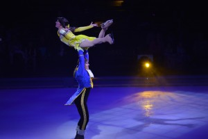 The skating in Disney on Ice: 100 Years of Magic was as good as you'll see without going to the Olympics.