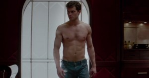 Any questions as to why Jamie Dornan was cast as the sex-craved Christian Grey in Fifty Shades of Grey? ((Universal Studios)