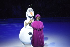 America's favorite Snowman had the crowd singing at Royal Farms Arena.