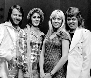 Momma Mia! is a hit by the group ABBA - Benny Andersson, Anni-Frid Synni Lyngstad, Agnetha Fältskog and Björn Ulvaeus