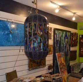 The Baltimore art studio of Loring Cornish. (Anthony C. Hayes)