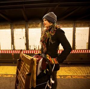 Poet Abi Mott in New York.  (courtesy photo)