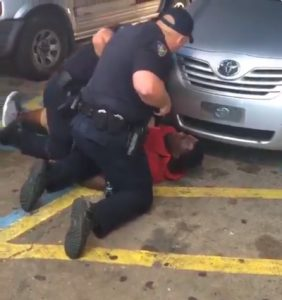 Alton Sterling just before he was killed.