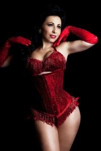 Burlesque superstar Angie Pontani