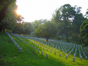 Arlington National Cemetery. (Andrew Bossi)