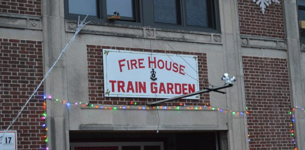 Baltimore City Fire Department Station 45 Train Garden 2017. (credit Anthony C. Hayes)