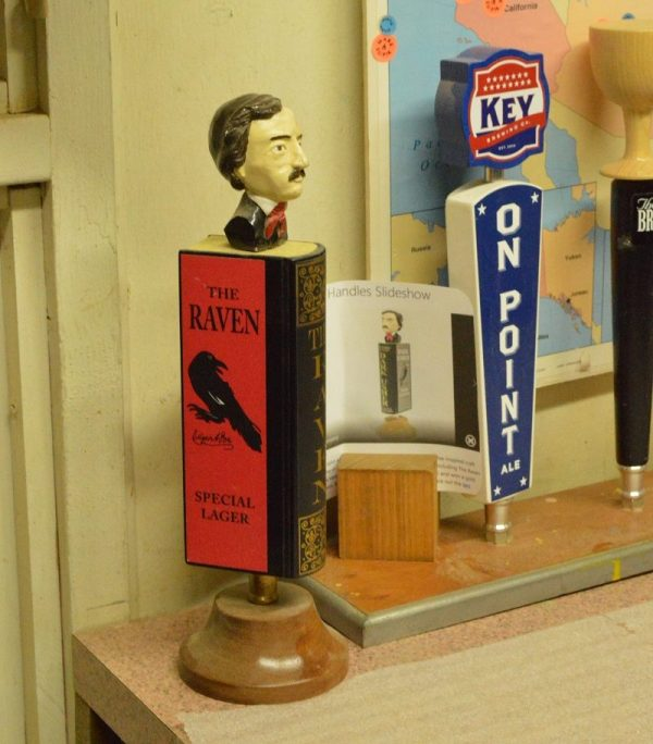 Beer tap handle by Mark Supik & Co. in Baltimore (Anthony C. Hayes)