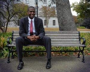 Bakari Sellers is widely seen as a rising star in his party (Campaign courtesy).
