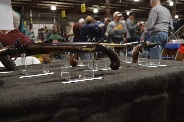 Baltimore Antique Arms Show: Maryland made flintlocks. (Anthony C. Hayes)
