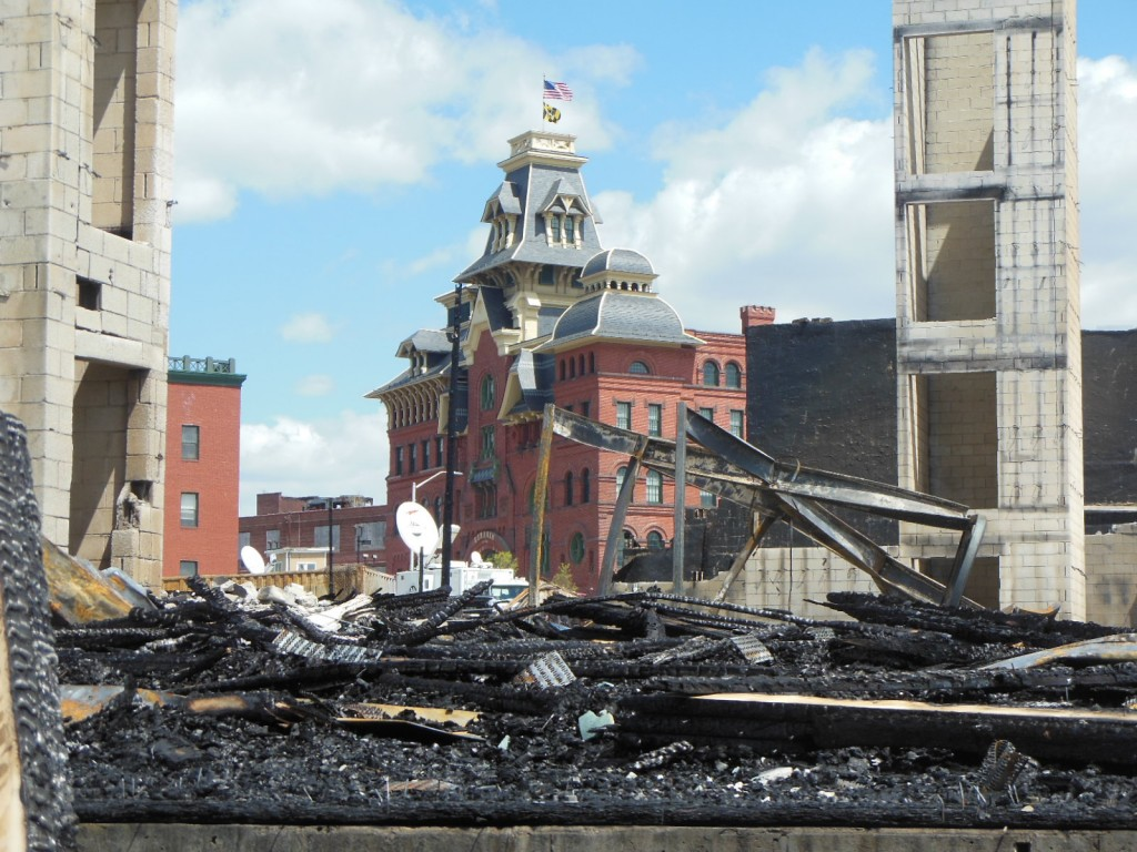 How long will it take to rebuild the city? (Anthony C. Hayes)