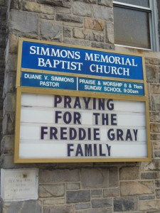 Freddie Gray did not want this. (Anthony C. Hayes)