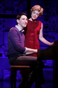 Ben Fankhauser (Barry Mann) and Erika Olson (Cynthia Weil) provide some comic relief as King's rival songwriters. (Courtesy photo)