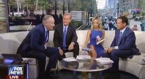 """Bill O'Reilly on Fox & Friends discussing one of his """"Killing"""" books and Dr. Ben Carson's anti-Islam remarks, accusing the media of creating the Carson controversy. (YouTube)"""