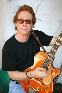 Bill Mumy with his Les Paul guitar. (Credit Angela Cartwright)
