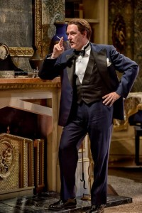 Bruce Randolph Nelson as Charles in Blithe Spirit. (ClintonBPhotography)