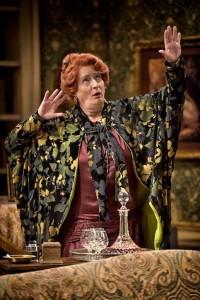 Nancy Robinette as the outlandish Madame Arcati. (ClintonBPhotography)