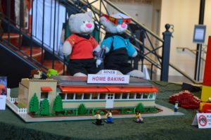 Blobfest 2018: Kelly Hoffman's Lego recreation of the Downingtown Diner. (Anthony C. Hayes)