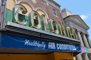 The Colonial Theatre in Phoenixville, PA. is home for Blobfest. (Anthony C. Hayes)