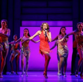 Deborah Cox in The Bodyguard: The Musical at the Hippodrome Theatre.