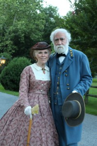 Bonnie and Frank Orlando as Mary and Robert E. Lee. (courtesy)