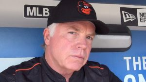 Orioles manager Buck Showalter