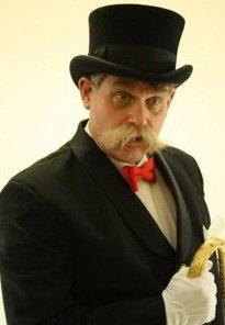 Burlesque's favorite  butler 'Stache