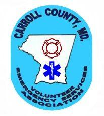 CCVESA Carroll County Volunteer Emergency Services Association logo