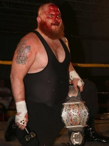 Tremont was a bloody mess following his victory in a rare Taipei Deathmatch. (Lyle C. Williams)