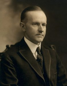 Calvin Coolidge. (Notman Photo Co.)