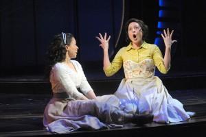 Carey Rebecca Brown and Dorea Schmidt in Carousel. (courtesy)