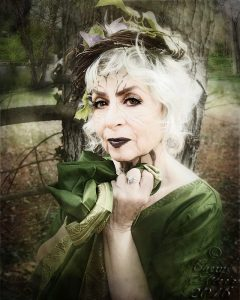 The Crone Project - VISIBLE: Another photograph by Cheryl Fair celebrating the Crone phase of life.
