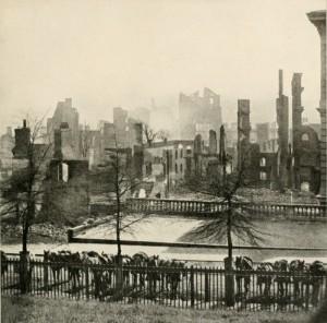 Richmond in ruins - April 1865.