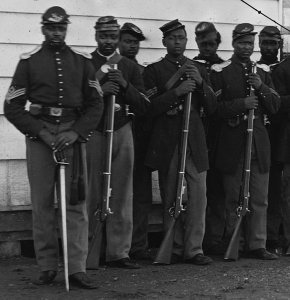 Maryland raised six regiments of Colored Troops.