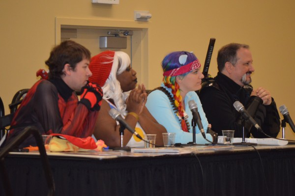 One of the many expert panels which was featured at Comic-Con. (Anthony C. Hayes)