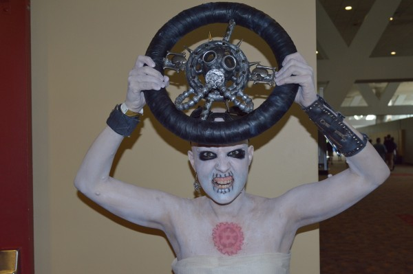 Lauren Iser as War Boy. (Anthony C. Hayes)