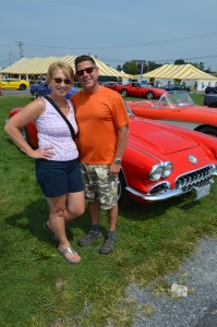 Car enthusiasts Dianne and Todd Warren. (Anthony C. Hayes)