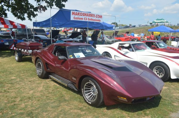 Randy Hammitt S Macabre Modified 1969 Corvette Mako Shark The Baltimore Post Examiner Celebrity Award