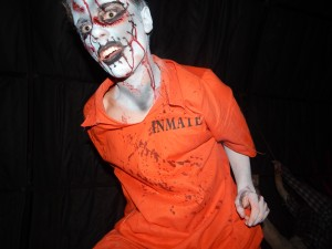 This dude would have killed me easily at Field of Screams Maryland. (Jon Gallo)