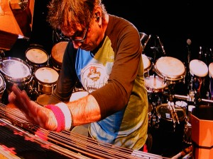 Drummer Mickey Hart was at his best during his trademark solo Bill Kreutzmann during the second set on Sunday.