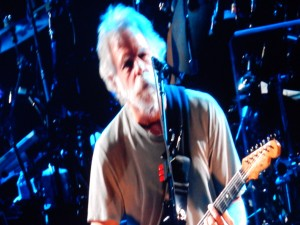 The  legendary Bob Weir. (All photos by Jon Gallo)