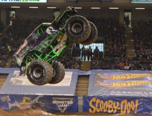 Cole Venard and Grave Digger is in first place in the overall standings with 70, points, 11.5 ahead of ?and Zombie.
