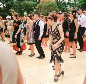 The Dardanella Great Gatsby Presidential Inaugural Ball will feature dance lessons. (Nishell Falcone
