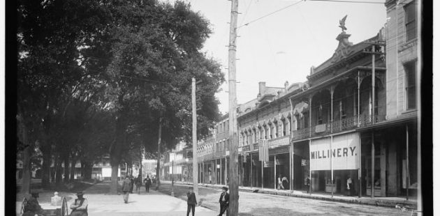Dauphin Street in Mobile, AL is the original home of Wintzell's Oyster House.